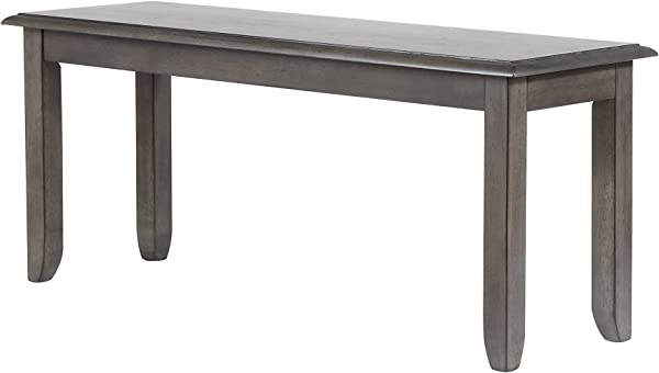 Sunset Trading DLU EL BN42 Shades Of Gray Dining Bench Weathered Grey