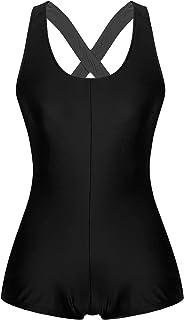 ranrann Damen Sportbody Trikot Leotard Einteiler Body Gymnastikanzug Tank Tops Shorts Jumpsuit Turnanzug Frauen Traininganzug Sportbekleidung