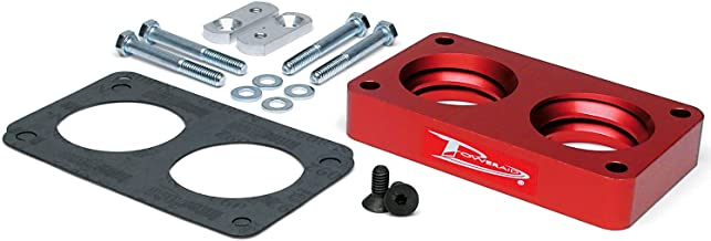 Poweraid Throttle Body Spacer For Ford ~ F-350 Pickup ~ 1989-1995 ~ Red ~
