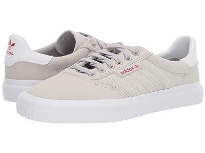 adidas Skateboarding 3MC (Grey Two F17/Footwear White/Scarlet) Skate Shoes