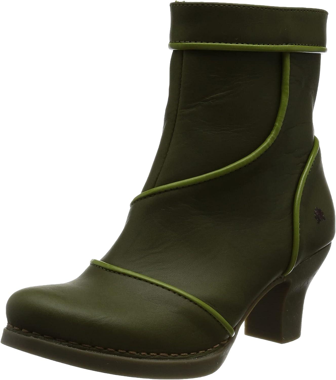 ART Women's 1832 Oxford Boot, Khaki, 8 UK
