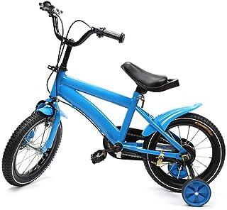 comprar comparacion Shioucy - Bicicleta infantil de 14 pulgadas, para niños y niñas, bicicleta infantil