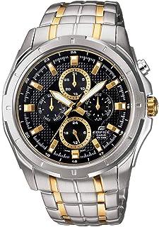 Casio Edifice Men's Black Dial Stainless Steel Analog Watch - EF-328SG-1AVUDF