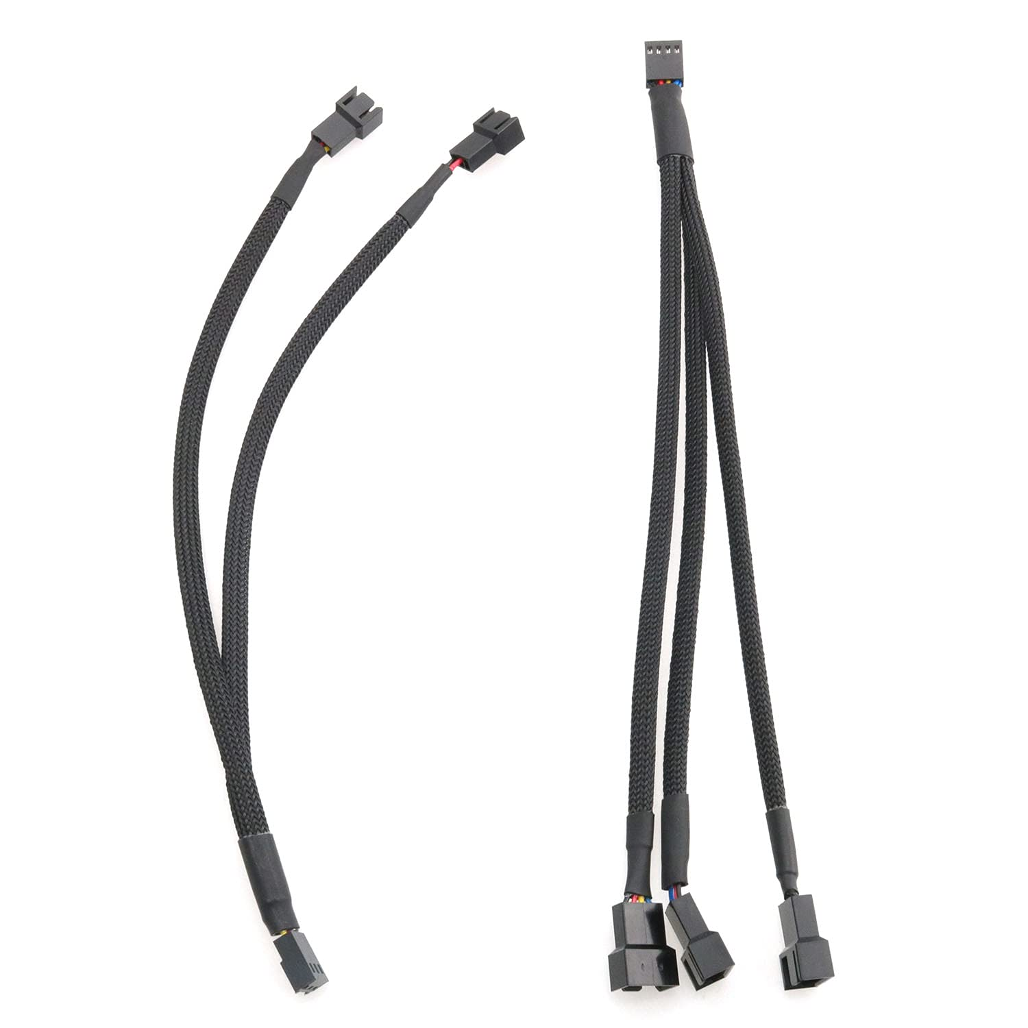 WELWIK Fan Power Splitter Cable 4-Pin Online limited product Elegant to IDE Connector