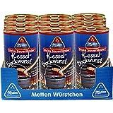 12 Dosen a 240g Metten Kessel Bockwurst Made in Germany je 3 Würtschen je Dose