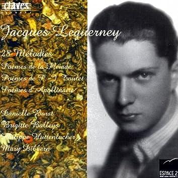 Jacques Leguerney: 28 Mélodies