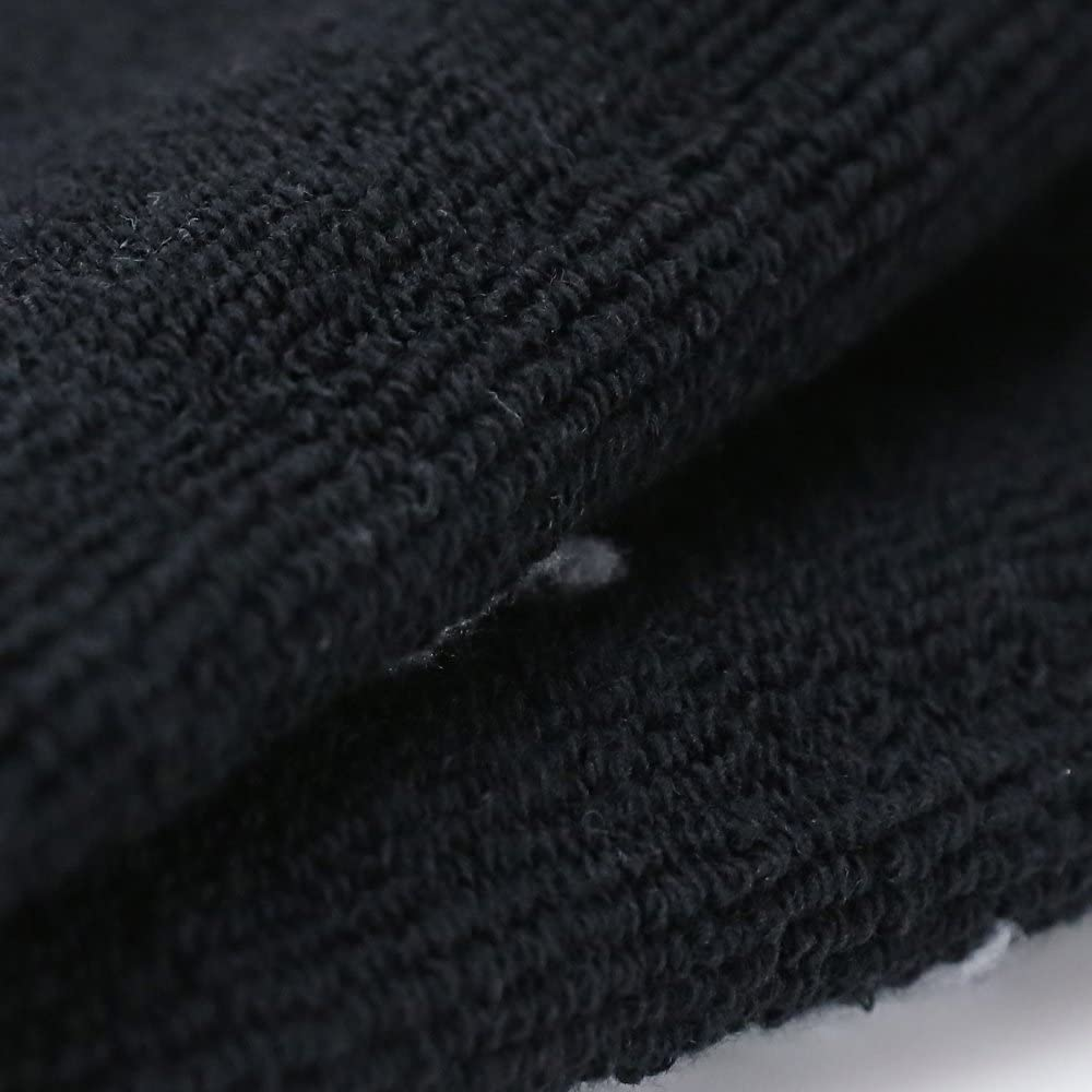 Enerwear 10P Pack Men's Cotton Extra Heavy Cushion Crew Socks, Blackwhite, Shoe Size: 6-12
