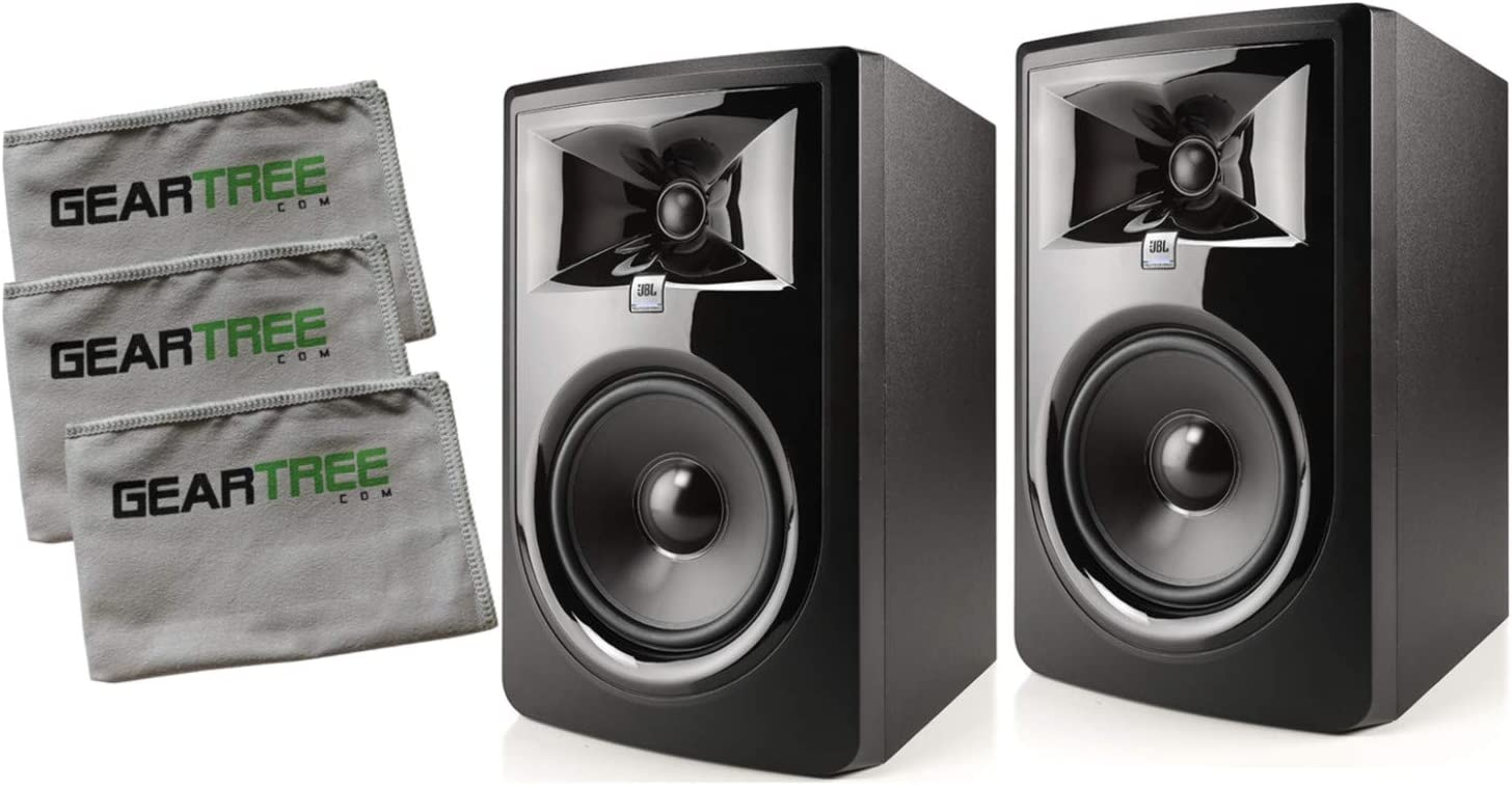 Our shop OFFers the best service New Free Shipping JBL 308P MKII Powered 8in Two-Way Pair Studio Monitor C w Bundle