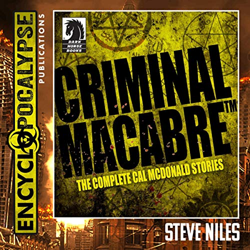 Criminal Macabre audiobook cover art