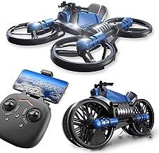 $293 Get Kikole 2.4G Deformation Motorcycle Folding Quadcopter Drone Double Mode Quadcopters