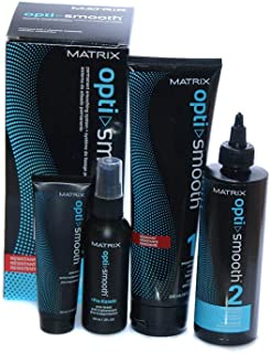 Matrix Matrix Opti Smooth Pro-Keratin Kit - Resistant for Unisex 4 Pc, 4 count