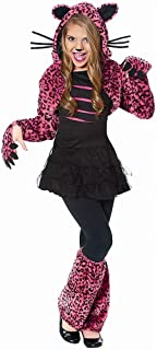 Costume Culture Women's Bad Kitty Girl's Costume, Pink, Small