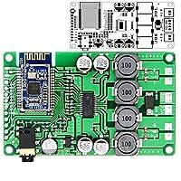 Bluetooth 5.0パワーアンプボード用2x15W / 10WサポートAUXオーディオ入力サポートシリアルコマンドは名前とPasswoを変更できます