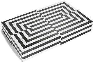 Jonathan Adler Men's Lacquer Op Art Backgammon Set