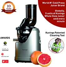 Kuvings Professional Cold Press Whole Slow Juicer (B1700) (Dark Silver)