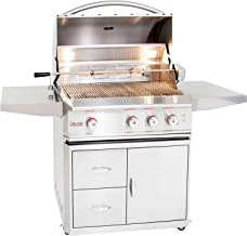 Blaze Professional 3-burner Propane Gas Grill With Rear Infrared Burner On Cart