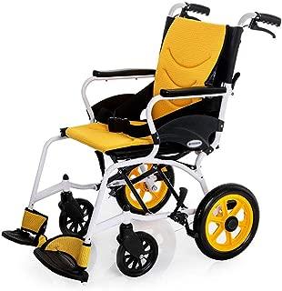 Wheelchair Adult Transport Medical Assistance Elderly, Disabled, Rehabilitation Patient Nursing Cart Portable Folding 45 X 41cm 100kg Load Bearing