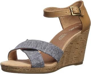 TOMS Women's Sienna Espadrille Wedge Sandal