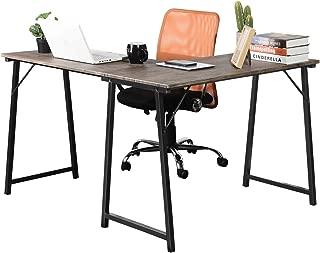 GreenForest Corner Desk L Shaped Computer Desk PC Latop Table Workstation for Home Office, Walnut