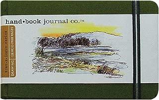 Hand-Book Journal Co. Travelogue Journal Landscape Cadmium Green 3.5x5.5