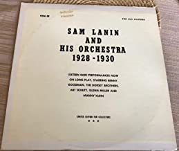 SAM LANIN AND HIS ORCHESTRA 1928-1930 LIMITED EDITION COLLECTORS