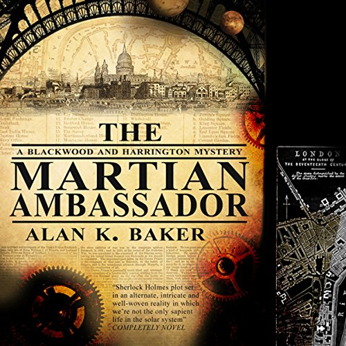 The Martian Ambassador audiobook cover art