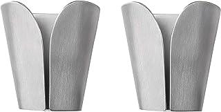 KES Kitchen Towel Hooks Self Adhesive Dish Towel Holder Hand Towel Hook Rack Hanger Ring RUSTPROOF Stainless Steel Brushed...