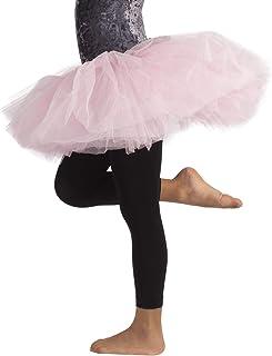 CALZITALY Leggings Danza Bimba | Pantamaglia Dance | Leggings Ballet | Nero, Rosa | 4/6, 8/10, 12/14 Anni | 60 Den | Calze...