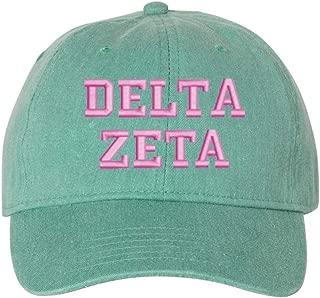 Delta Zeta Gold Script Comfort Colors Sweatshirt