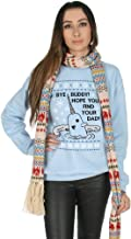 Sanfran - Bye Buddy Hope You Find Your Dad Christmas Ugly Xmas Elf Jumper Sweater