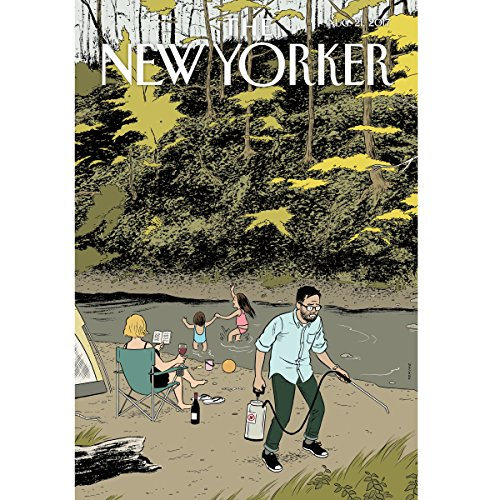 The New Yorker, August 21st 2017 (Adam Davidson, Dana Goodyear, Nathan Heller) cover art