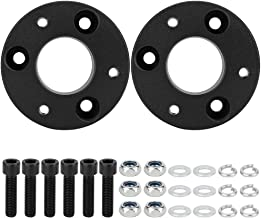Qiilu 2.5 inch Front Leveling Lift Kit Compatible with 2006 2007 2008 2009 2010 2011 2012 2013 2014 2015 2016 2017 2018 Dodge RAM 4WD
