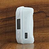 ModShield for Geekvape Aegis Solo 100W TC Silicone Case ByJojo Geek Vape Protective Cover Shield Skin Sleeve Wrap (Clear Opaque)