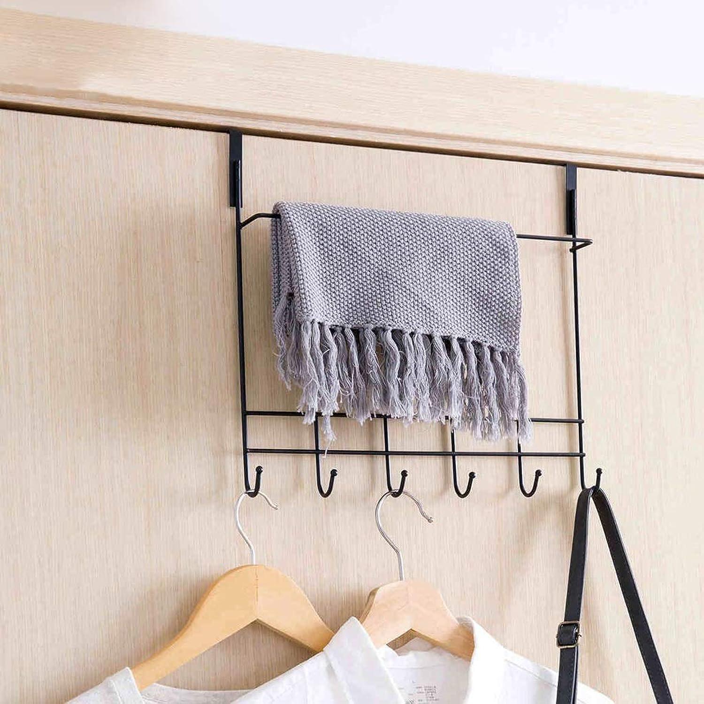 XUYRENP Modern Minimalist Hook Wrought Iron Hook Home Decoration Creative Bathroom Kitchen Door Rear Shelf Coat Hook