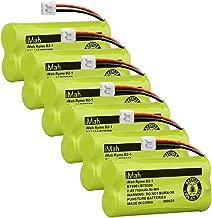 iMah Ryme B2-1 BT-800 BT-8001 BT-8300 BT-1011 BT-1018 BT-1022 BT184342 BT18433 Battery Compatible with AT&T CL80109 EL51109 SL82000 TL90078 Vtech CS6209 CS6219 CS6229 DS6121 DS6221 DS6221 (Pack of 6)