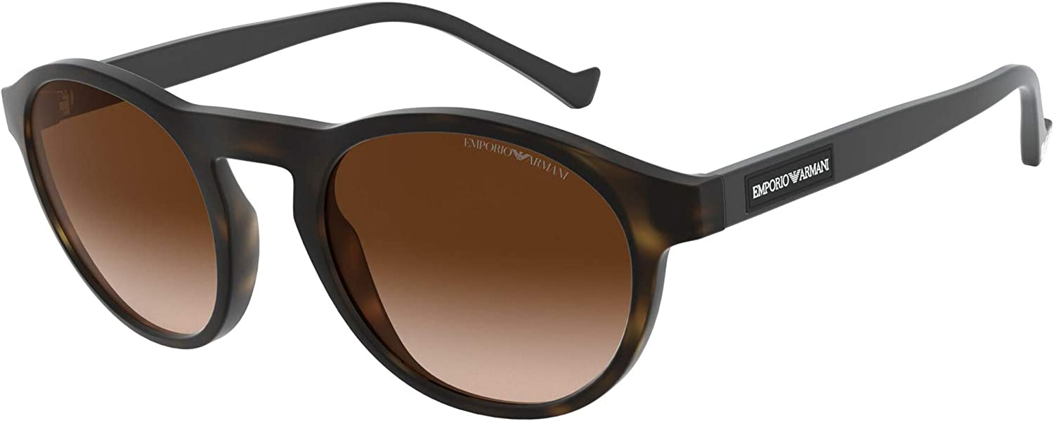 Armani Large discharge sale EA4138 Ranking integrated 1st place Sunglasses 508913-52 - Brown Gradient EA4138-5089