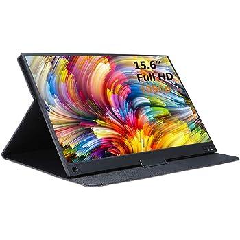 AiLRINNI 15,6 pulgadas Monitor portátil – HDMI 1920 x 1080P IPS Full HD Pantalla con USB alimentado, altavoces integrados Monitor de juego para Raspberry Pi PS4, Xbox, Laptop, Phone, Switch: Amazon.es: Electrónica