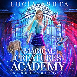 Magical Creatures Academy 1: Night Shifter                   By:                                                                                                                                 Lucia Ashta                               Narrated by:                                                                                                                                 Kate Marcin                      Length: 5 hrs and 28 mins     1 rating     Overall 5.0