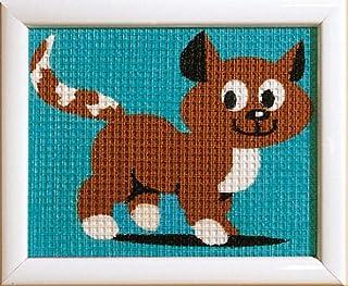 Vervaco Kit tapisserie Une petite chat,Multicolore