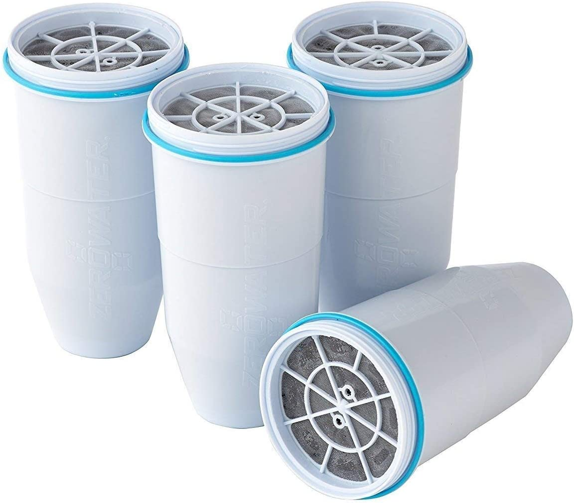 ZeroWater 4-Pack Replacement Filter Max 50% OFF ZR-004 Basic pac Cartridges Inventory cleanup selling sale