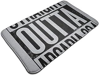 HUTTGIGH Straight Out Of Arcadia 234 - Alfombrilla antideslizante para puerta de entrada, alfombra de baño, alfombra de co...