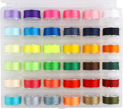 high quality Larcele Thread new arrival for Sewing with Bobbin, Assorted Colors Sewing Thread, Bobbin and Sewing Thread 2021 Set FRJSX-02 outlet online sale