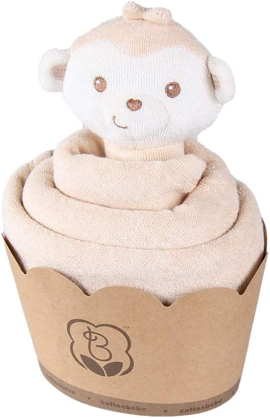 COTTONBEBE Baby Blanket with Stuffed Animal Plush Toy Set for Newborn Boy /& Girl Birthday Gift,Frog