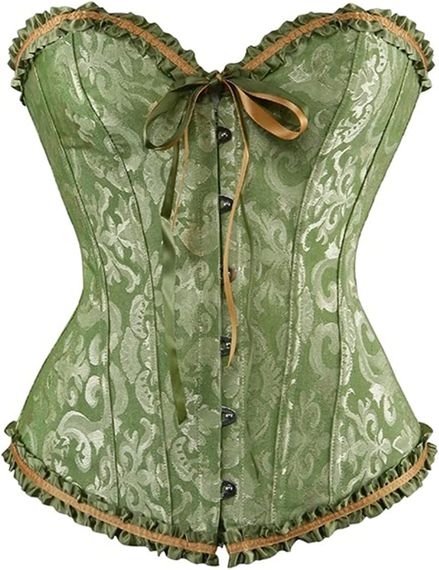 Women Bustiers Tops Sexy Translated Vintage Corsets Print OFFicial site L Flower Overbust