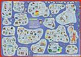 mindmemo Lernposter - Russisch für Einsteiger - Vokabeln lernen mit Bildern - geniale Lernhilfe - DinA2 PremiumEdition