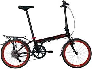 Dahon Speed D7 Street 20'' 7 Speed Folding Bicycle (Black/Red)