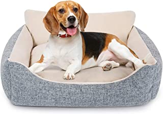 تختخواب های گرم سگ SMELOV و مبل سگ های ارتوپدی با پایین ضد آب ضد لغزش ، نازک مخصوص ظروف راحت ، ایمنی برای حیوانات خانگی متوسط و بزرگ سگ و گربه