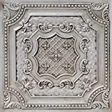From Plain To Beautiful In Hours DCT04aw-24x24 Ceiling Tile, Antique White