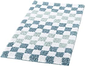 RIDDER Bath Rug, Bathroom Carpet, Polyester, Aqua, Approx. 55x85 cm