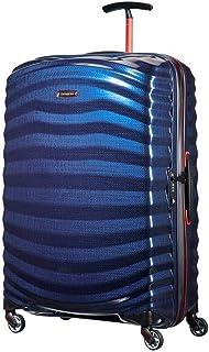 Samsonite Lite-Shock Sports Medium 75cm Hardsided Suitcase - Nautical Blue/Red